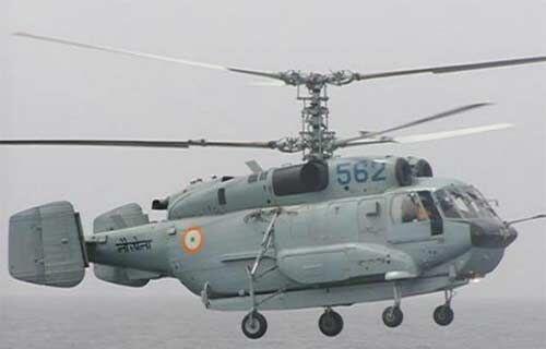 नौसेना के लिए रूस के 10 कामोव-31 डीएडब्ल्यू हेलीकॉप्टरों की खरीद को मंजूरी
