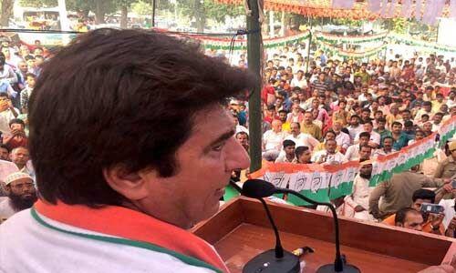 कांग्रेस ने हमेशा देश को सजाने-संवारने का काम किया : राज बब्बर
