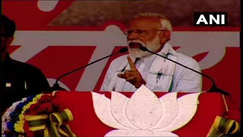 ममता के राज में राम का नाम लेना भी खतरे से खाली नहीं : प्रधानमंत्री