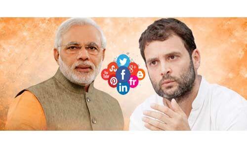 पीएम मोदी की सोशल मीडिया पर बढ़ी लोकप्रियता, राहुल गांधी से 100 गुना आगे