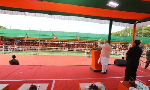भाजपा-कांग्रेस के थ्री जी में कितना अंतर : अमित शाह