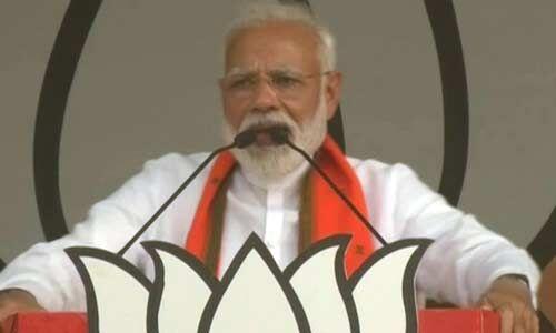 कांग्रेस पार्टी तो मैच खेले बगैर ही मैदान से बाहर हो चुकी : प्रधानमंत्री