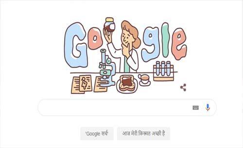 लूसी विल्स के जन्मदिन को गूगल एक कलरफुल डूडल के जरिए कर रहा सेलिब्रेट