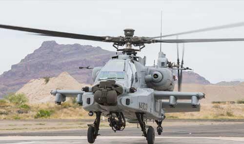 इंडियन एयरफोर्स को मिला पहला अत्याधुनिक अटैक हेलिकॉप्टर अपाचे