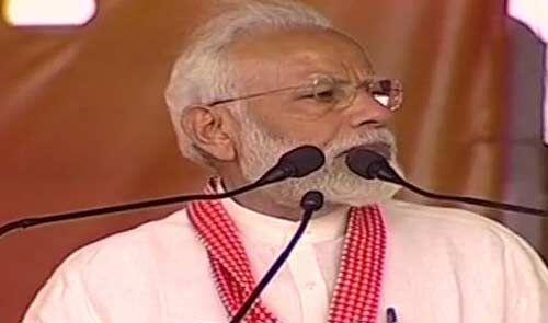 राष्ट्र की सुरक्षा सर्वोपरि : प्रधानमंत्री नरेंद्र मोदी