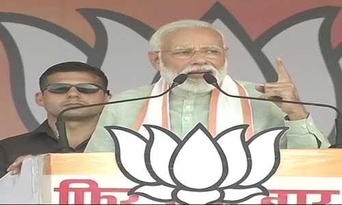 खंडवा में प्रधानमंत्री गरजे - कांग्रेस की झूठ और वादाखिलाफी की ये जीती जागती सच्चाई