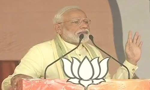 महामिलावटी लोग पूछ रहे हैं मोदी की जाति क्या : प्रधानमंत्री