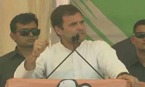 ये सभी बैंक के पीछे के गेट से पैसे ले गए, देश में अब होगा न्याय : राहुल गांधी
