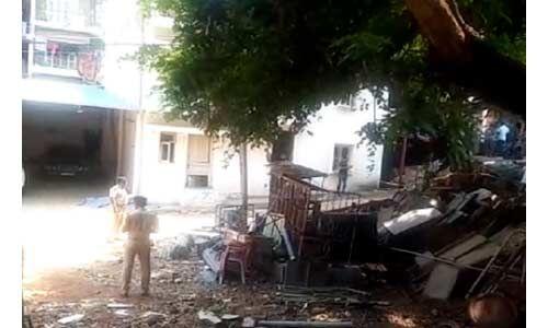 कांग्रेस विधायक के घर के पास विस्फोट, एक व्यक्ति की मौके पर ही मौत