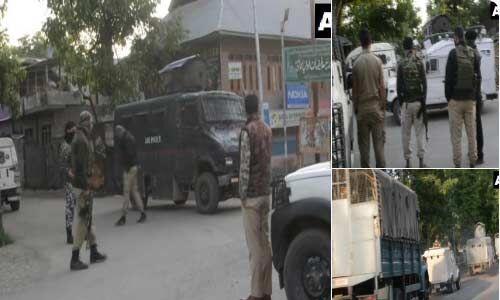 जम्मू : सुरक्षाबलों के साथ मुठभेड़ में दो आतंकवादी ढ़ेर