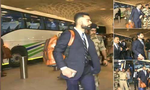 ICC World Cup 2019 : टीम इंडिया इंग्लैंड के लिए हुई रवाना