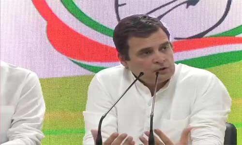 चक्रवात वायु को लेकर राहुल ने पार्टी कार्यकर्ताओं से की यह अपील
