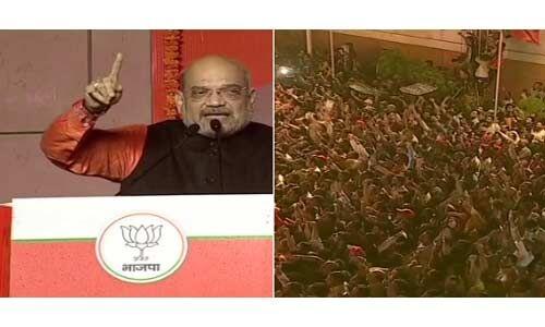 मोदी जी भाजपा की भव्य जीत के महानायक : शाह