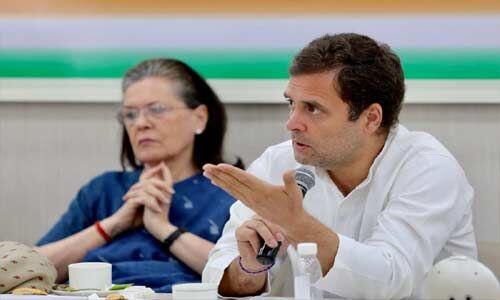 सीडब्ल्यूसी बैठक : राहुल ने की इस्तीफे की पेशकश, आलाकमान ने किया खारिज