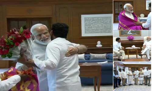 जगन मोहन रेड्डी ने प्रधानमंत्री को शपथ ग्रहण समारोह में आने का न्योता दिया