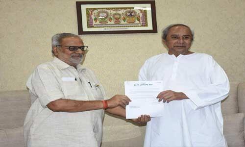 बीजद अध्यक्ष नवीन ने सरकार गठन का दावा पेश किया, 29 मई को लेंगे सीएम पद की शपथ