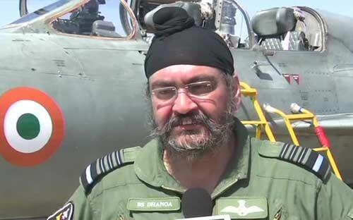 वायु सेना चीफ मार्शल ने कारगिल शहीद स्क्वाड्रन लीडर को दी श्रद्धांजलि