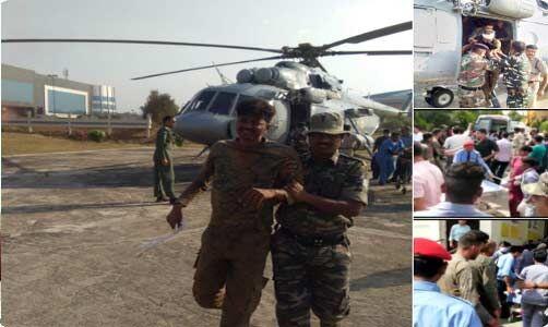 झारखंड : नक्सली ने किया IED विस्फोट, 11 सुरक्षाकर्मी घायल