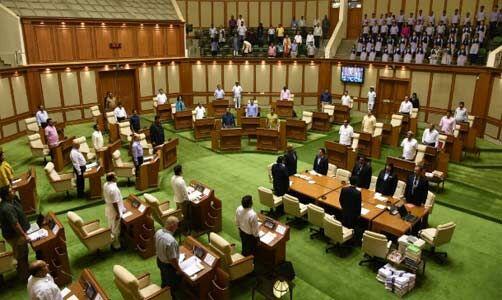 गोवा के नवनिर्वाचित विधायकों ने ली शपथ