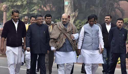अमित शाह और रविशंकर प्रसाद ने दिया राज्यसभा सदस्य से इस्तीफा