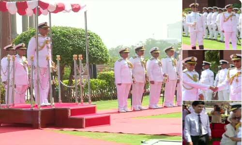 एडमिरल करमबीर बने नौसेना प्रमुख