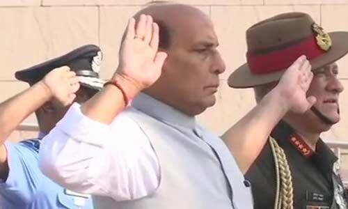 राजनाथ सिंह बने यूपी से रक्षा मंत्री बनने वाले आठवें राजनेता