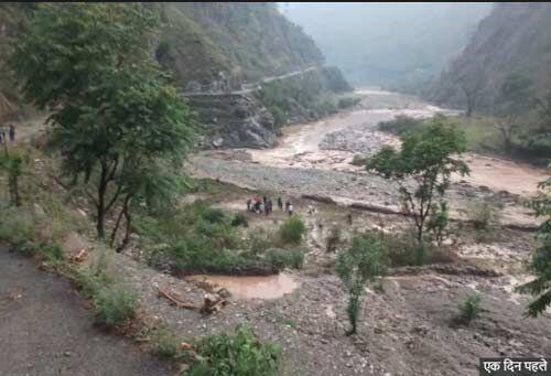 उत्तराखण्ड : अल्मोड़ा और चमोली में बादल फटने से 112 परिवार प्रभावित, राहत कार्य जोरों पर