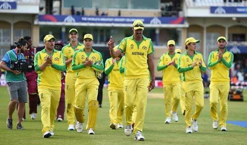 आस्ट्रेलिया ने वेस्टइंडीज को 15 रनों से हराया