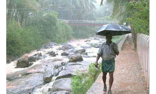 केरल में मानसून ने दी दस्तक, 7 दिन की देरी से पहुंचा मानसून