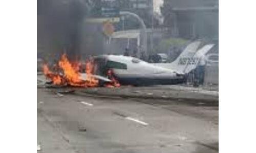 पुर्तगाल में एयरक्राफ्ट क्रैश, 2 लोगों की मौत