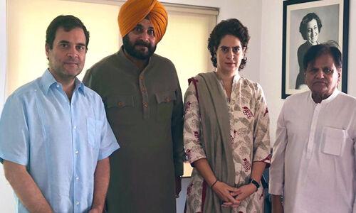 राहुल से मिले सिद्धू, पंजाब की स्थिति से कराया अवगत