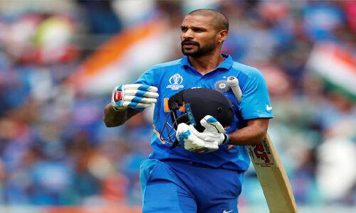 भारत को लगा बड़ा झटका, धवन हुए बाहर!