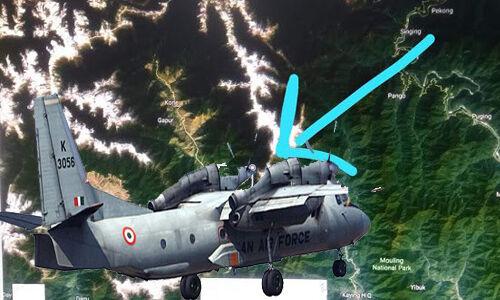 अरुणाचल में मिला लापता विमान एएन 32 का मलबा