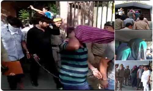 उत्तर प्रदेश : बलात्कार की धमकी देकर वसूलते थे पैसे, पुलिसकर्मियों सहित 15 गिरफ्तार
