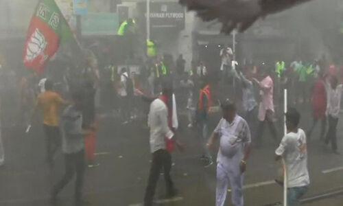 पश्चिम बंगाल में हुआ बवाल, भाजपा कार्यकर्ताओं पर पुलिस ने किया लाठीचार्ज