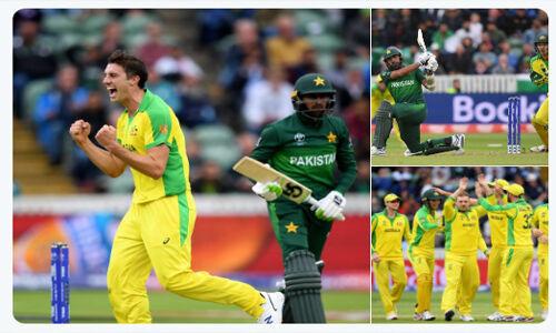 ऑस्ट्रेलिया ने पाकिस्तान को 41 रनों से हराया
