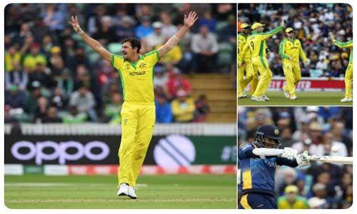 आस्ट्रेलिया ने श्रीलंका को 87 रनों से हराया