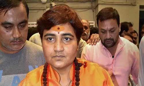 सांसद प्रज्ञा ठाकुर को रक्षा मंत्रालय की कमेटी से हटाया गया