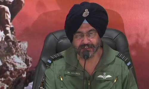 बालाकोट एयर स्ट्राइक के बाद पाकिस्तान हमारे एयरस्पेस में नहीं घुस सका : एयर चीफ मार्शल