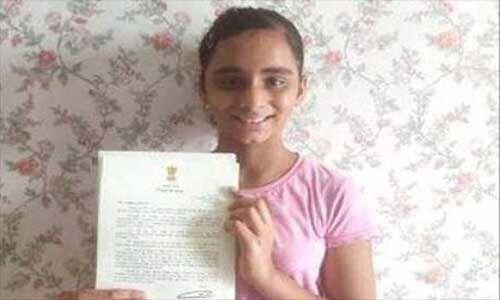 पीएम मोदी ने 11 साल की लड़की के पत्र का दिया यह जवाब
