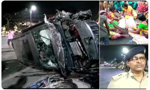 बिहार में एसयूवी कार ने चार बच्चों को रौंदा, 3 की मौत, भीड़ ने डाईवर को मार डाला