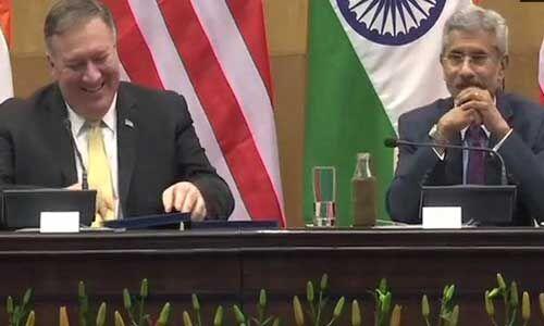 अमेरिका-भारत की साझेदारी नई ऊंचाइयों पर पहुंचने लगी : संयुक्त प्रेस कॉन्फ्रेंस