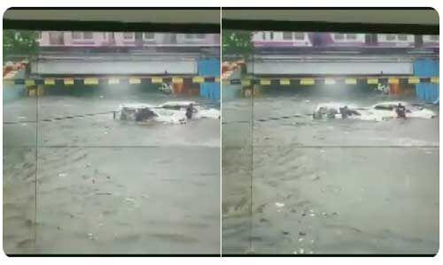 पहली बारिश के बीच करंट लगने से तीन की मौत, दो घायल
