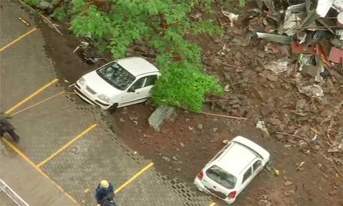 महाराष्ट्र में हुआ बडा हादसा, इमारत की दीवार गिरने से 15 लोगों की मौत