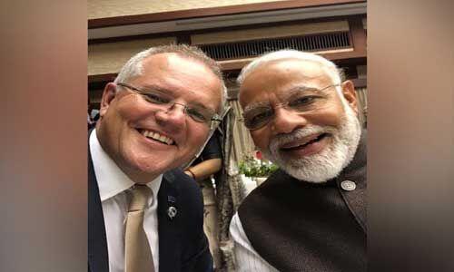 G-20 : ऑस्ट्रेलिया के प्रधानमंत्री ने मोदी के साथ सेल्फी लेकर की तारीफ