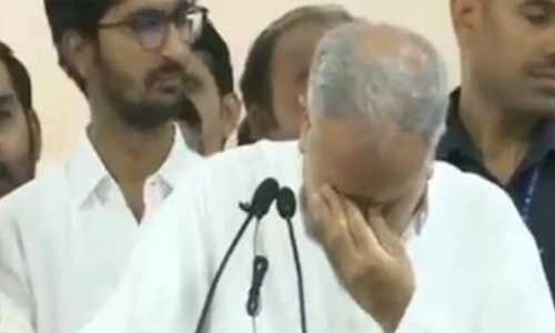 मुख्यमंत्री भूपेश बघेल की आंखों में आए आंसू, जानें क्या है पूरा मामला