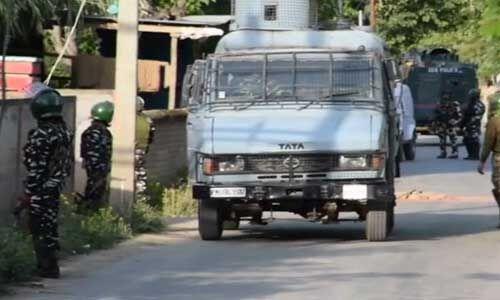 बडगाम एनकाउंटर में सुरक्षाबलों ने एक आतंकी मार गिराया