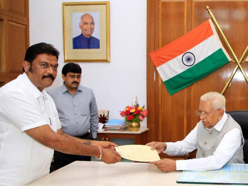 आनंद सिंह ने विधानसभा की सदस्यता से दिया इस्तीफा