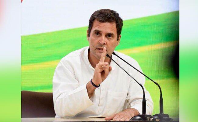 बाढ़ बचाव कार्य में तत्काल जुटें कांग्रेस कार्यकर्ता : राहुल