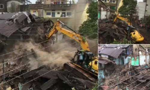 इंदौर : रामेश्वर भेरूलाल के जर्जर मकान हटाने पर फिर हंगामा, यह है पूरा मामला